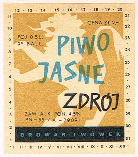 Browar Lwówek Piwo Jasne Zdrój