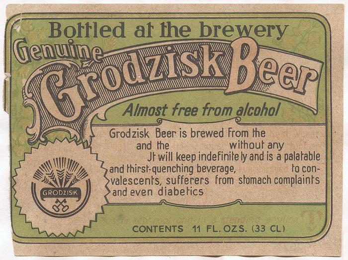 Grodzisk Beer Genuine