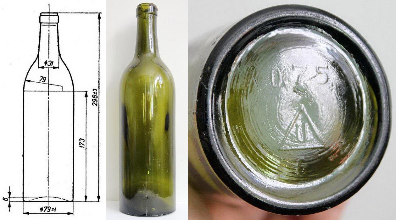Rys 1 Bordo butelka Wino