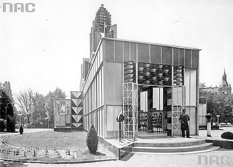 1929 Pawilon hut szkła naPowszechnej Wystawie Krajowej wPoznaniu2