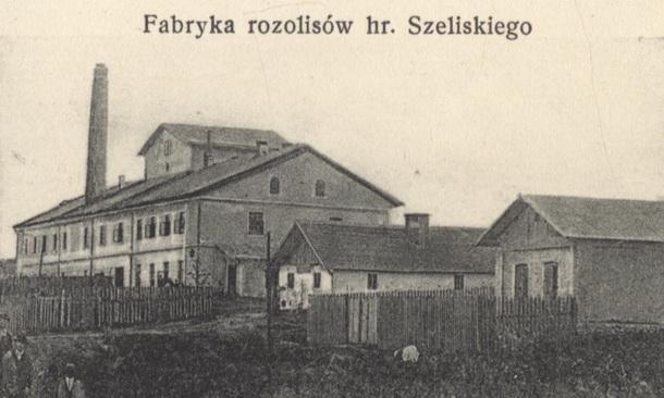 1906 Fabryka rosolisów Szeliski Henryk hr. Kozowa 610