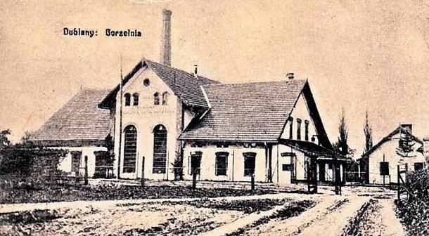 1911 r. Dublany podLwowem Gorzelnia doświadczalna