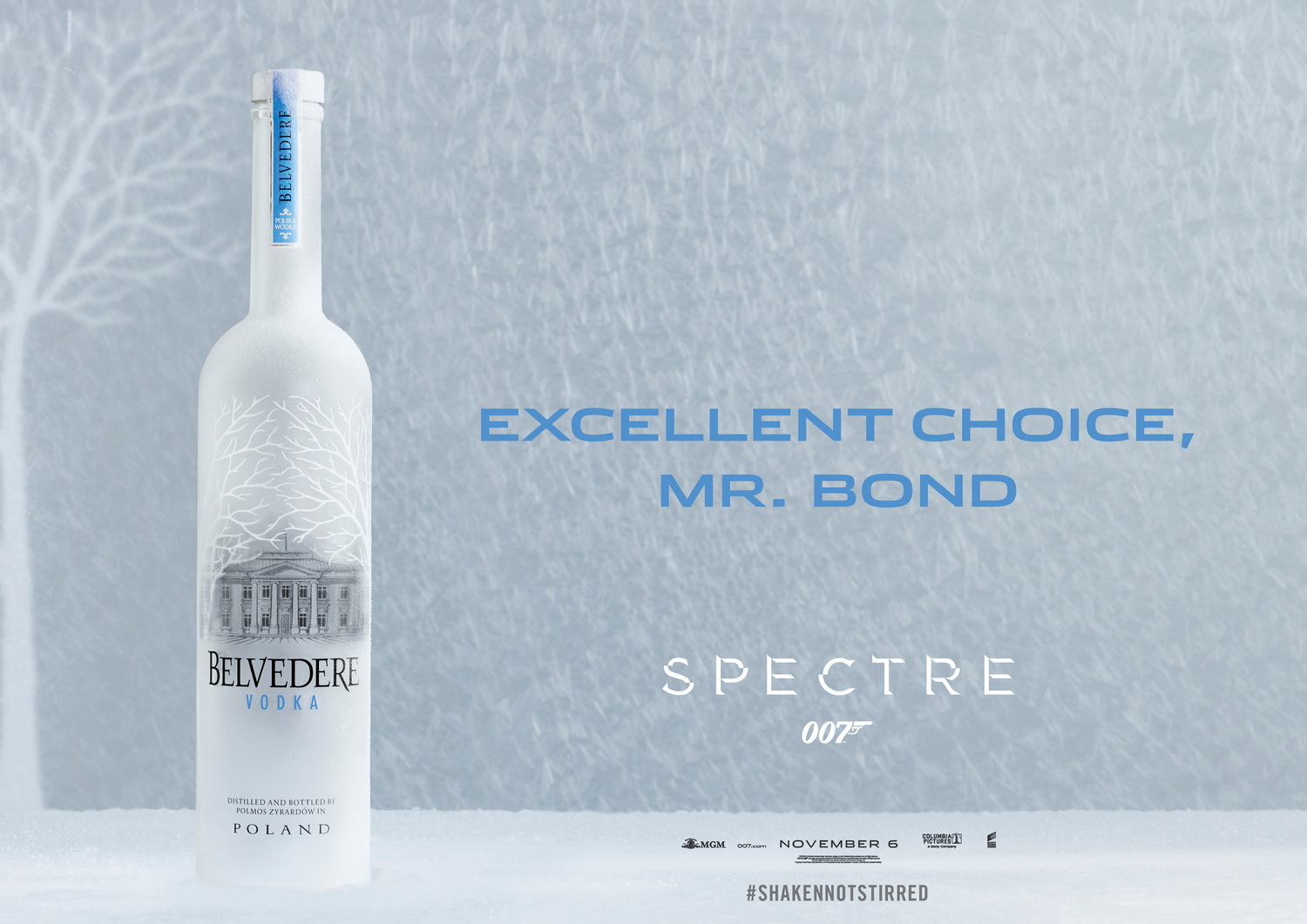 Belvedere Vodka & James Bond