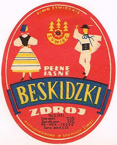 Browar Żywiec Piwo Beskidzki Zdrój