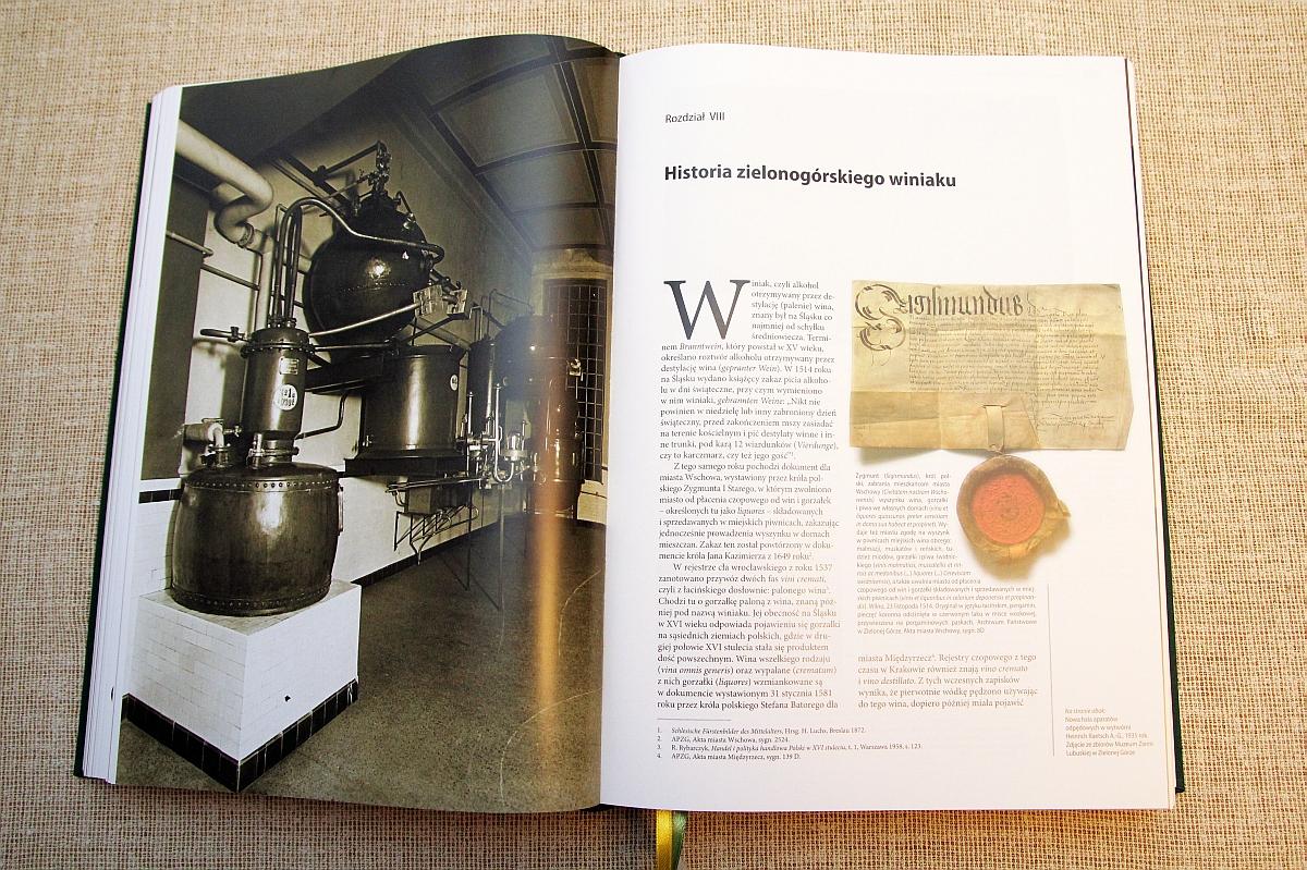 Enographia Thaloris - Historia zielonogórskiego winiaku