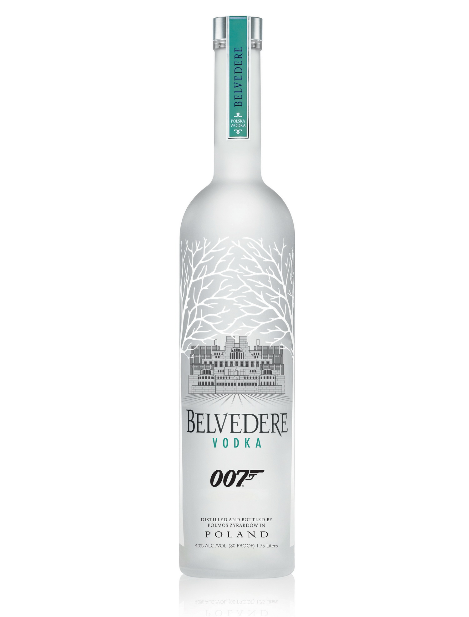MI6 Belvedere Bottle