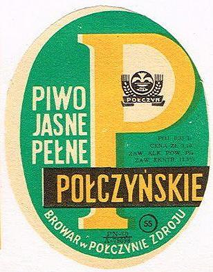 Piwo Jasne Pełne Połczyńskie Browar wPołczynie Zdoju