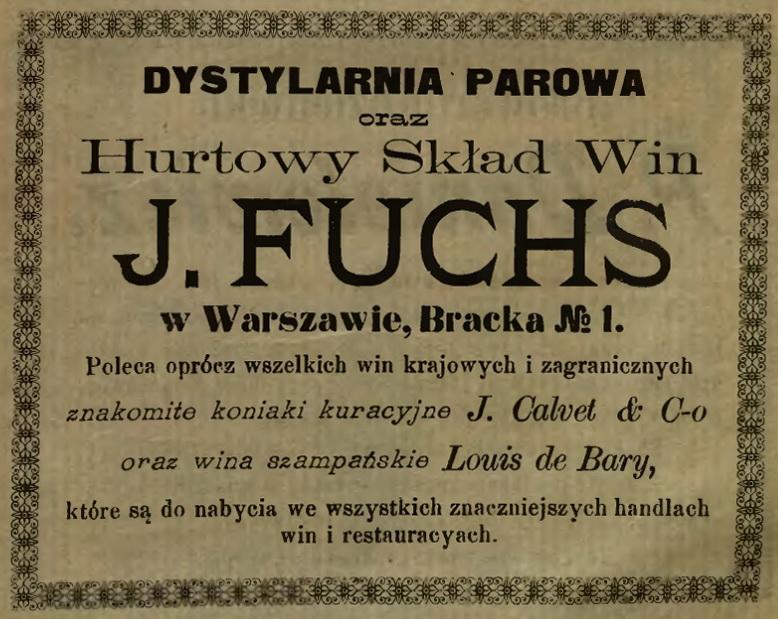 1903 - Kalendarz Gub. Rad. Fuchs