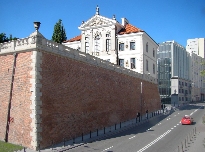 2010 Pałac Ostrogski Chopin Museum Tył budynku zbastionem2