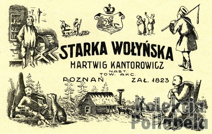 Kantorowicz Hartwig, Poznań Starka Wołyńska - ok