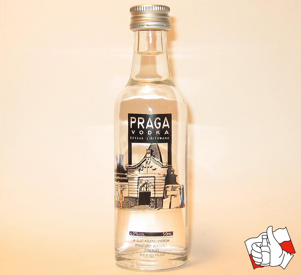 Praga Vodka Zlotówka logo