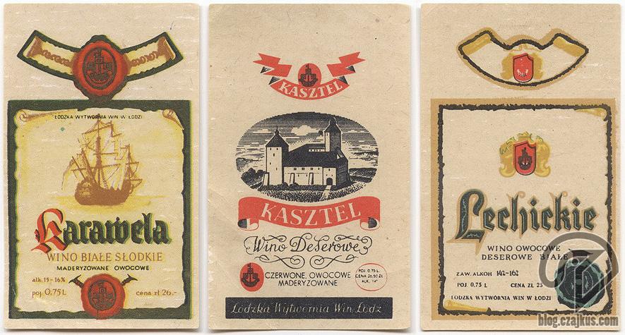 Karawela, Kasztel, Lechickie Wina W