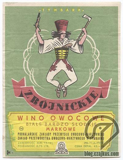 Zbójnickie Wino Owocowe ok