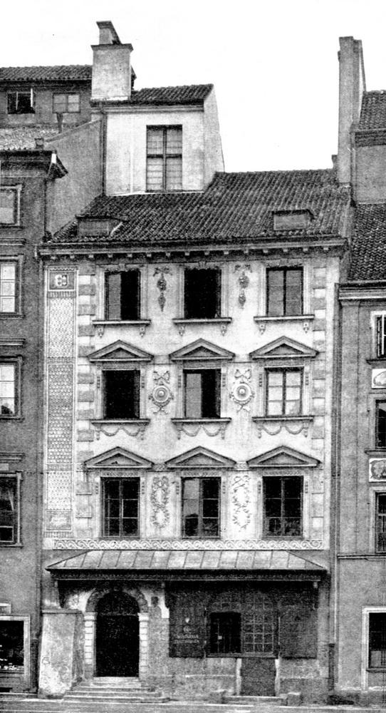 Kamienica_Fukierow_Fuggerhaus_Warschau