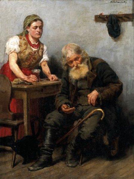 1890 Kazimierz Pochwalski wkarczmie