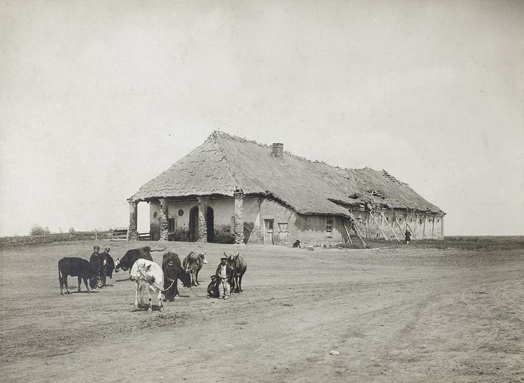 1910 Pozostała jedyna zkilku karczem Babińskich przy st. Oratowo 2