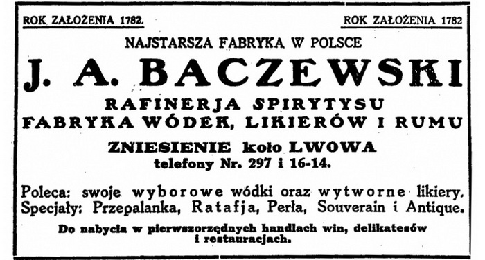 1929 J.A. Baczewski Wstęp ok