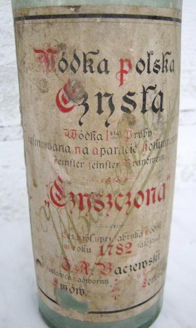 Baczewski Wódka polska czysta