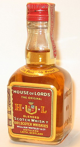 Hause of Lords Blended Whisky